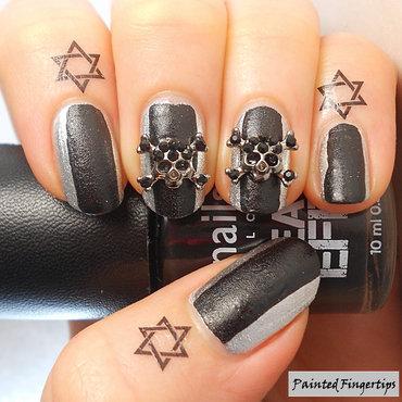 Halloween NailCandi Skulls  nail art by Kerry_Fingertips