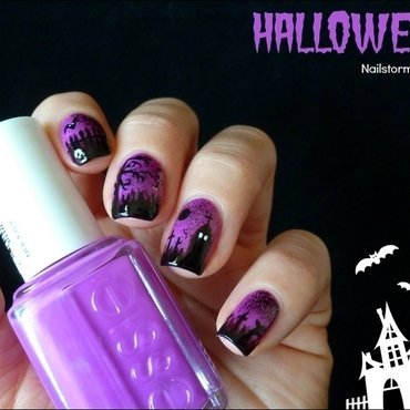 Halloween nail art nail art by THE PROPHECIN