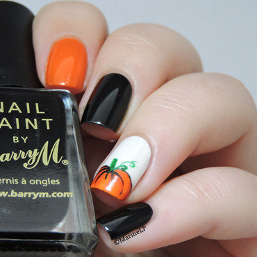 Halloween pumpkin nails 20 1  thumb370f