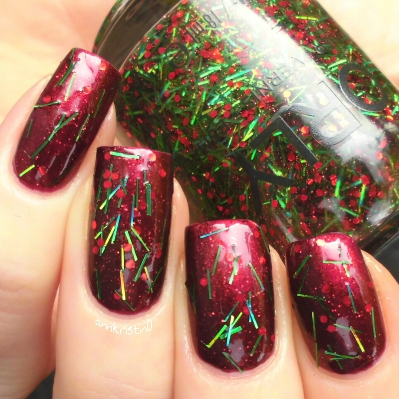 Orly Smolder and Orly Tinsel Swatch by Ann-Kristin