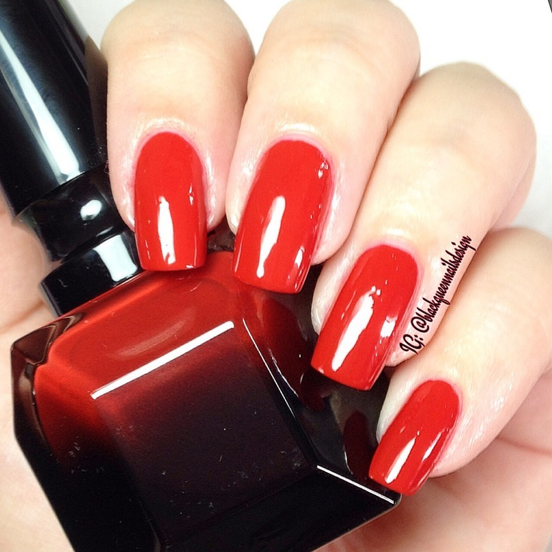 Christian Louboutin Rouge Louboutin Swatch by Blackqueennailsdesign