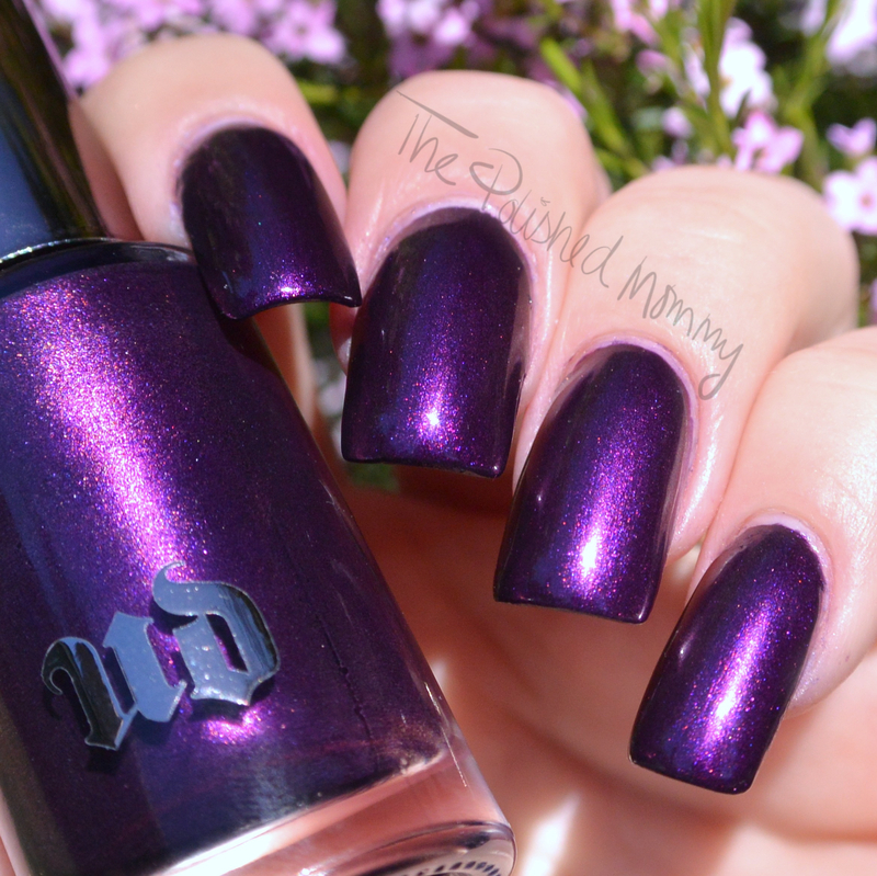 Urban Decay vice Swatch by The Polished Mommy