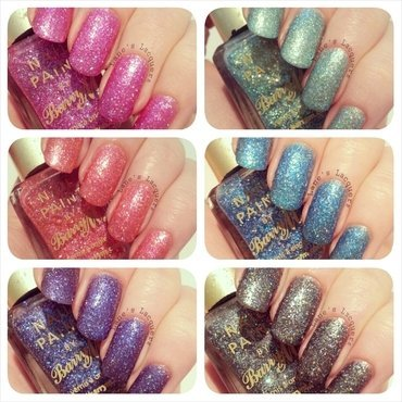 New barry m glitterati collection swatches thumb370f