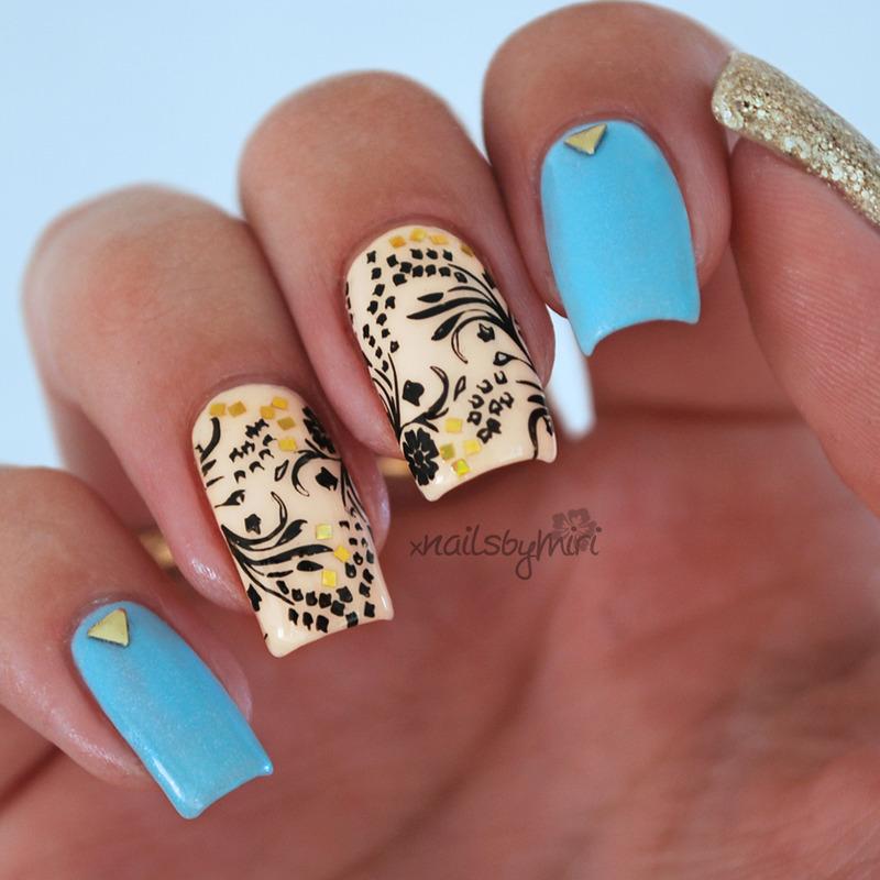 Fairy Dust nail art by xNailsByMiri