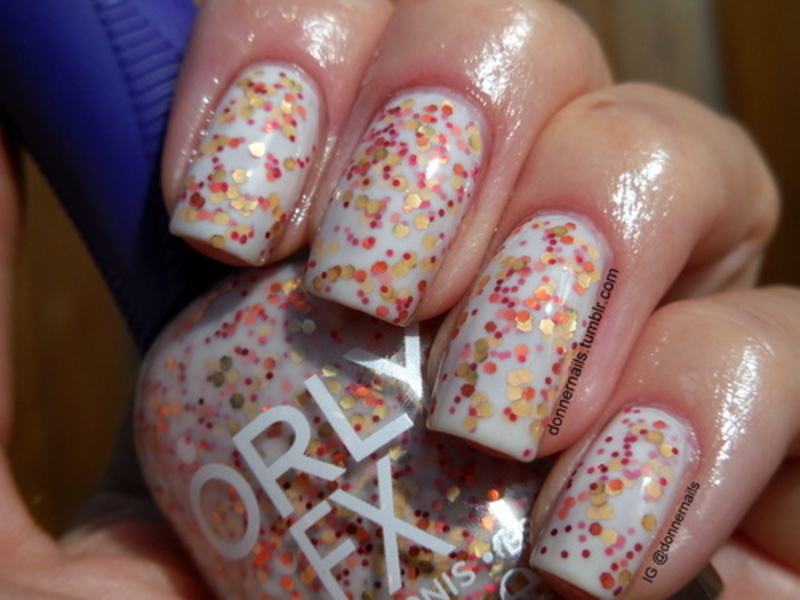 Orly StarBurst Swatch by Donner