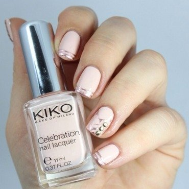 Nude&french nail art by Bidibulle