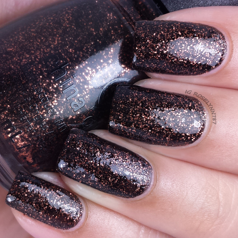 China Glaze Getting to Gnaw You Swatch by Rose Mercedes