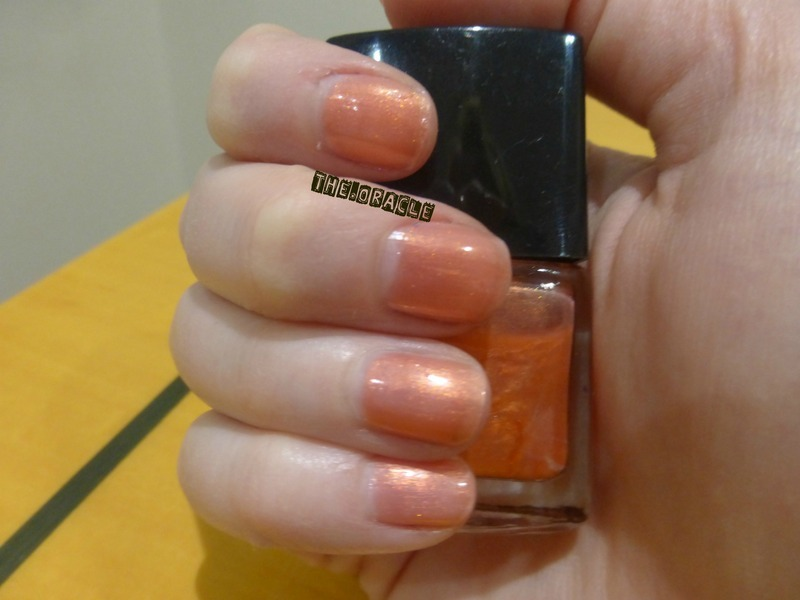 Markwins International Orange Swatch by The_Oracle - Nailpolis ...