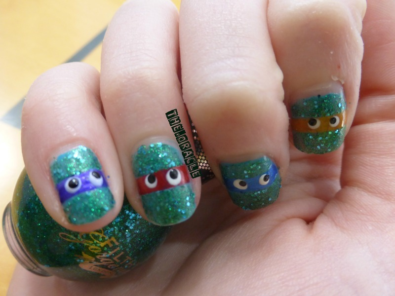 Teenage Mutant Ninja Turtles nail art by The_Oracle - Nailpolis ...