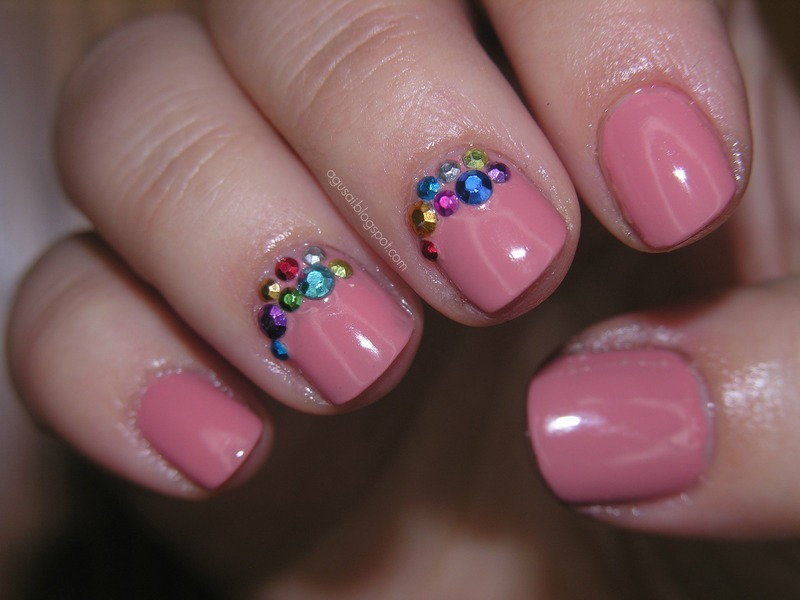 Studs nail art by Agni