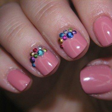 Studs nail art by Agni