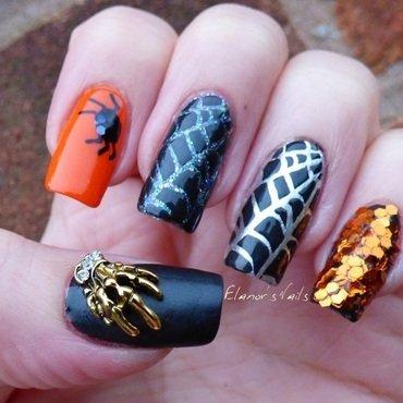 Halloween Nails nail art by Ginger_Elanor