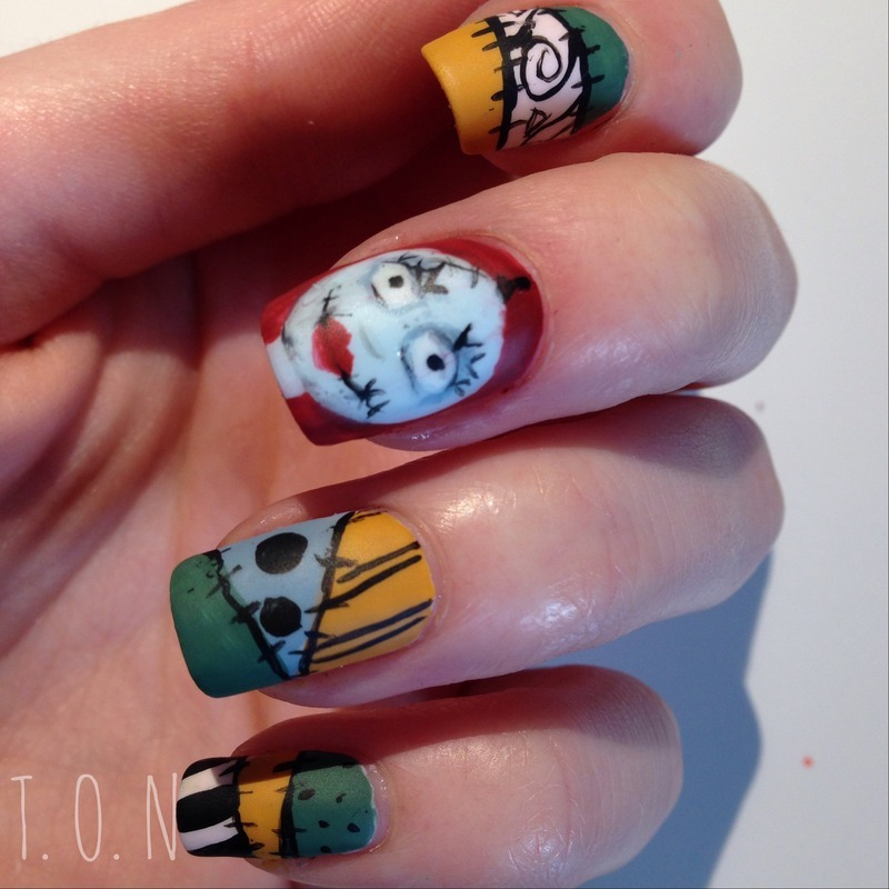 Sally nail art by Tipped Off Nails