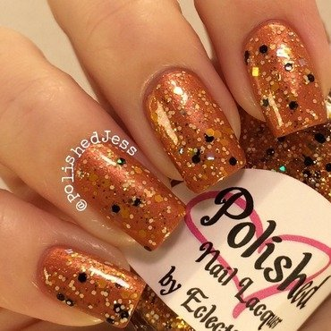 EclecticGirls Fallen and EclecticGirls Spell Swatch by PolishedJess