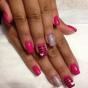 save the tatas nail art by mel