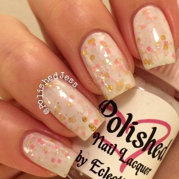 EclecticGirls Unicorns are Real Swatch by PolishedJess
