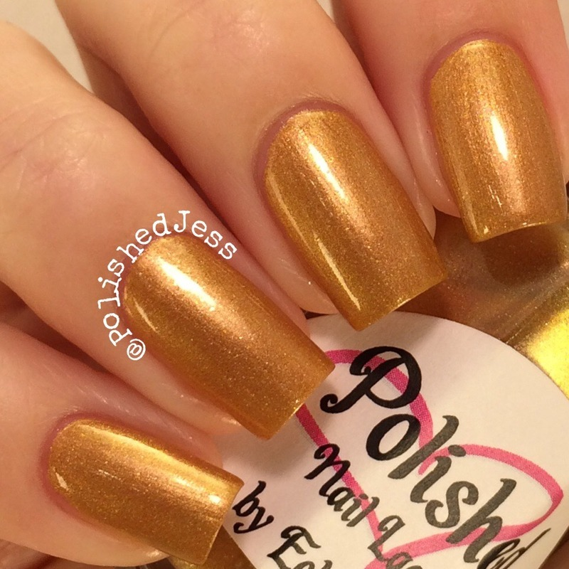 EclecticGirls Queen's Crown Swatch by PolishedJess