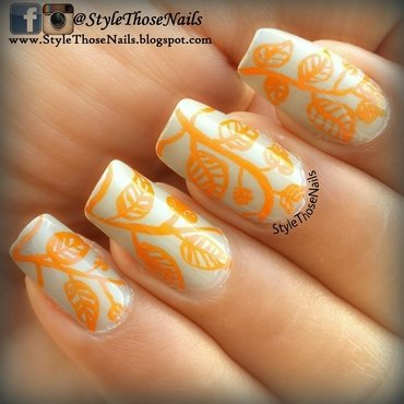 Autumnleaf 20nails stylethosenails 20 1  thumb370f