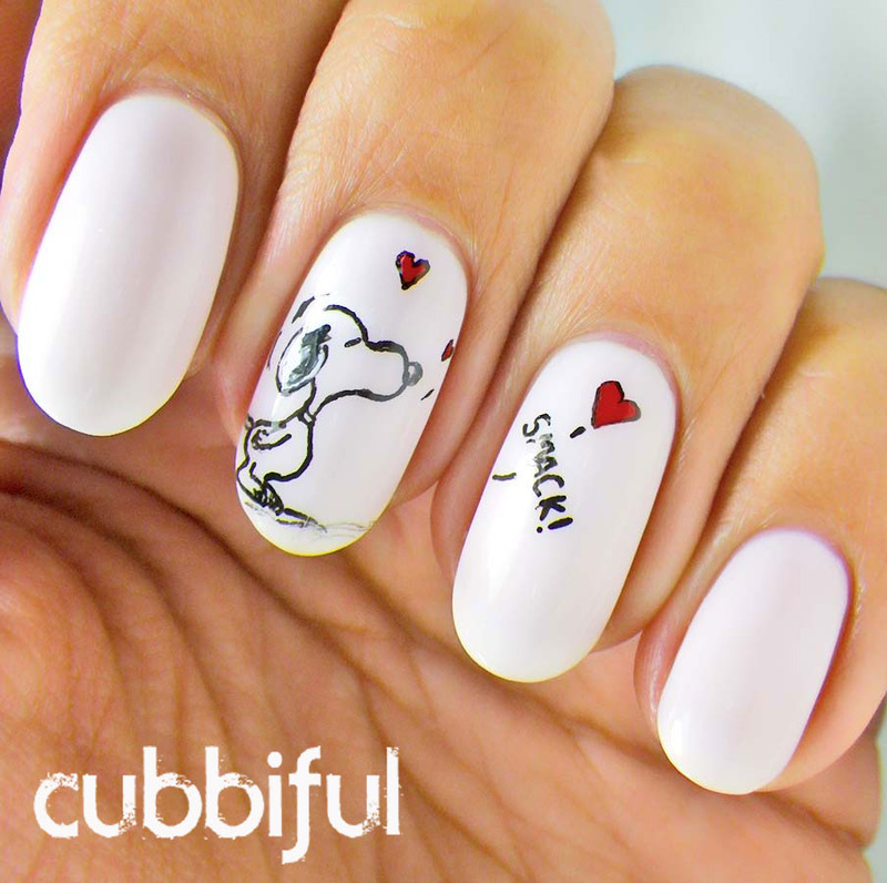 Back With A Kiss. nail art by Cubbiful