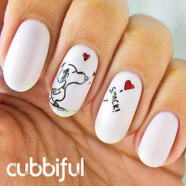 Snoopy nails thumb370f