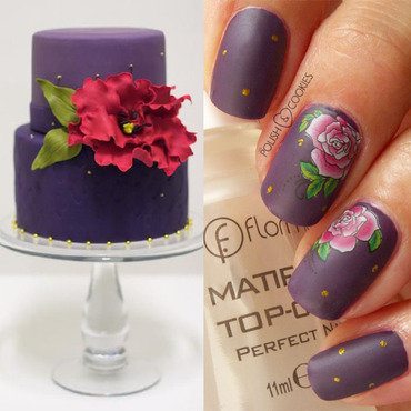 INSPIRED BY A CAKE - PART 11 nail art by PolishCookie