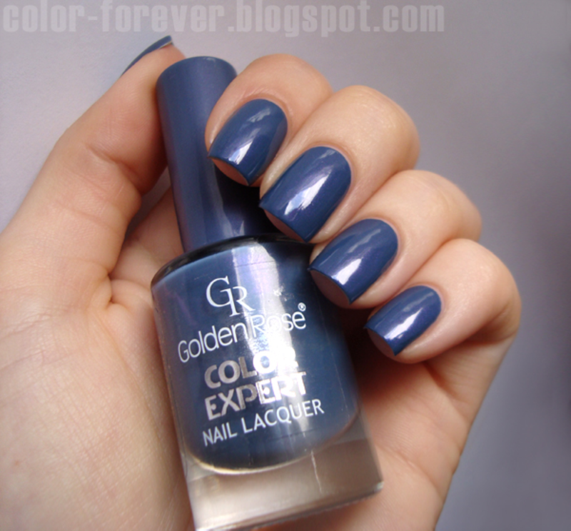 Golden Rose Color Expert 85 Swatch By Ania Nailpolis