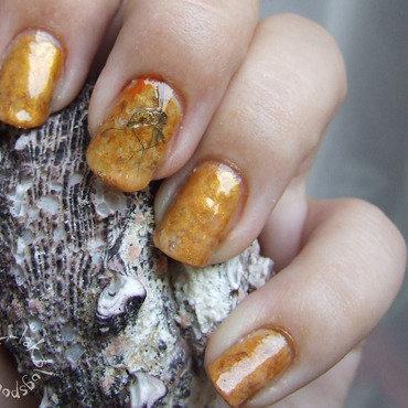Jurassic nail art by Barbara P.