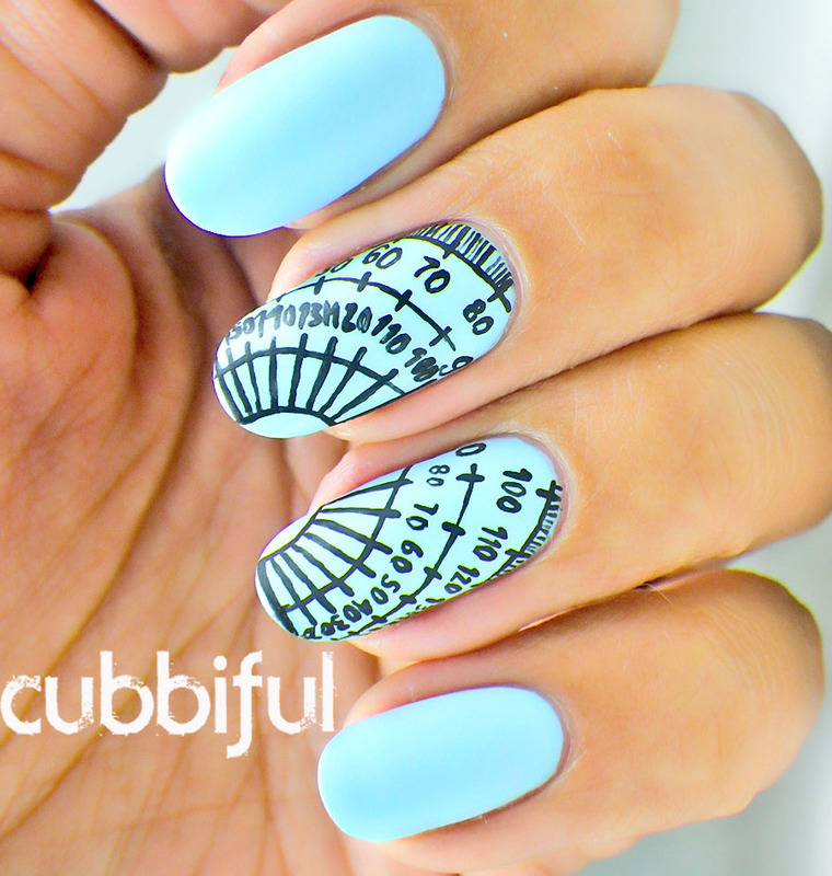 A2z A Is For Angles Nail Art By Cubbiful Nailpolis Museum Of