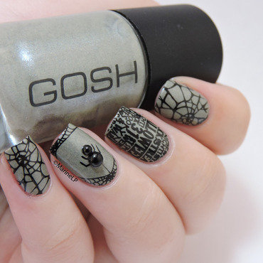 Halloween spider nails 20 2  thumb370f