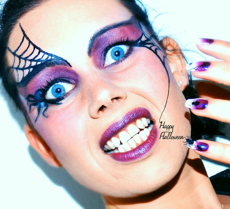 Happy Halloween! nail art by Margriet Sijperda