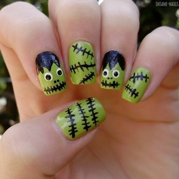 Halloweennailartchallenge 2013 inspiredbyhorrormovie 4 thumb370f