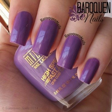 Milani Violet Dash Swatch by BaroquenNails