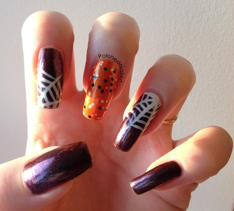 More Halloween fun nail art by Carrie