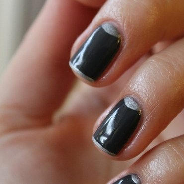 Grafit nail art by Gorshkova
