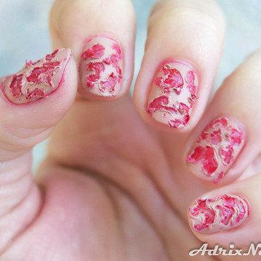 Living dead nail art by Adriana Bojorquez