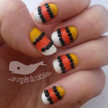 Sweet candy nail art by Cachalot