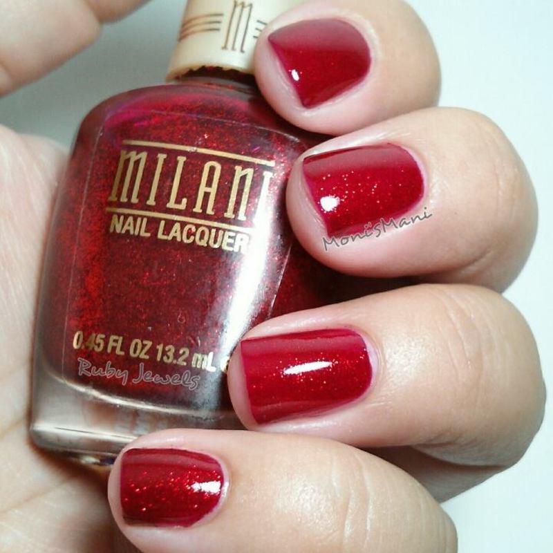 Milani ruby jewels Swatch by Moni'sMani