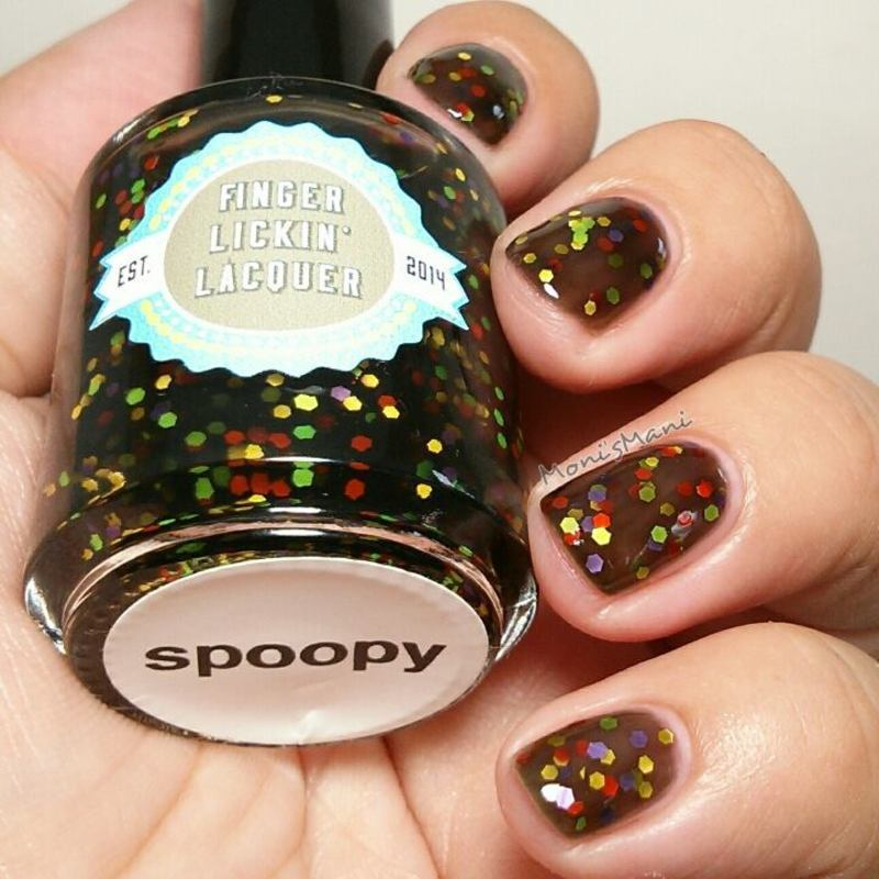 finger lickin lacquerfinger lickin lacquer s poopy Swatch by Moni'sMani