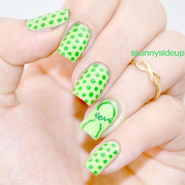Love nail art by ssunnysideup (Sabrina)