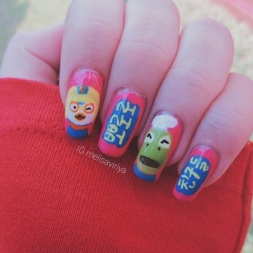 PORORO Nails nail art by melisa viriya