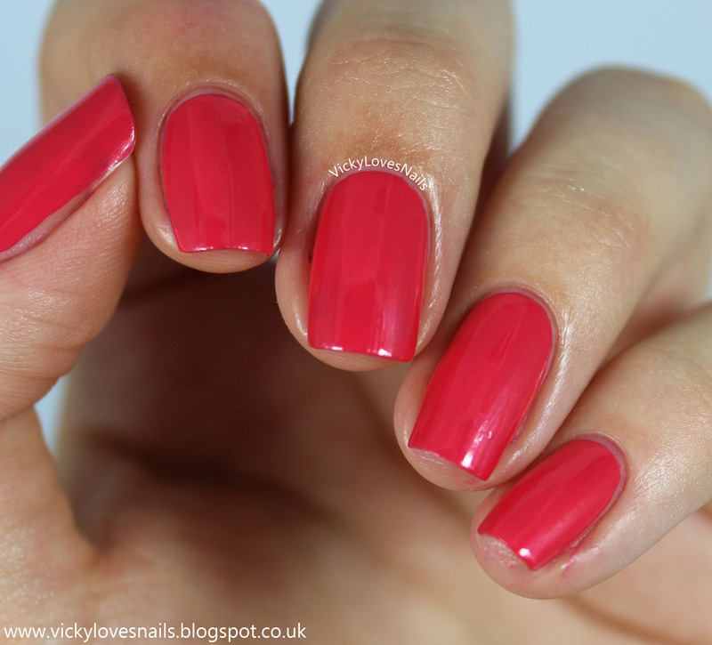 OPI A Definite Moust Have Swatch by Vicky Standage