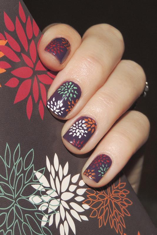 Fall nail art by Magdalena