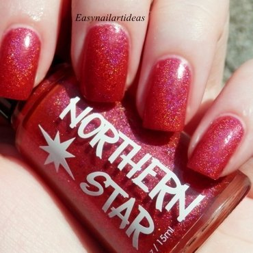 Northern Star Polish Burning Embers Swatch by Easynailartideas