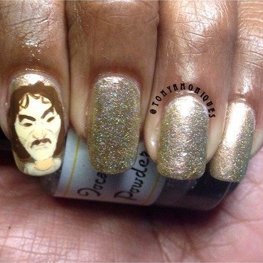 Hello! My name is Inigio Montoya nail art by Tonya Simmons