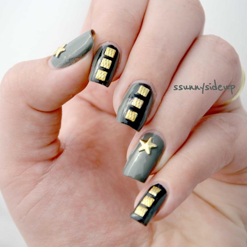 Army Nail Art Army nails nail art by...