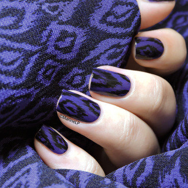 Purple ikat nails 20 2  thumb370f