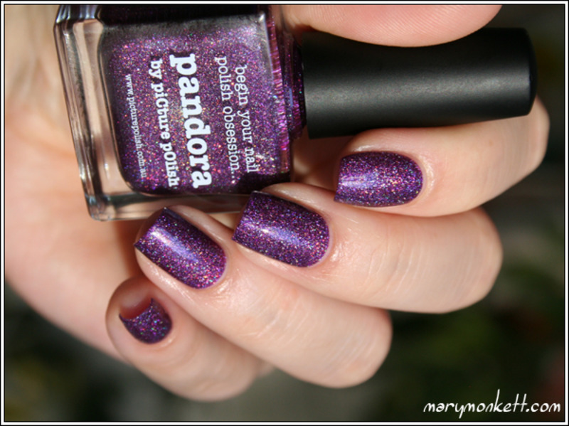 piCture pOlish Pandora Swatch by Mary Monkett