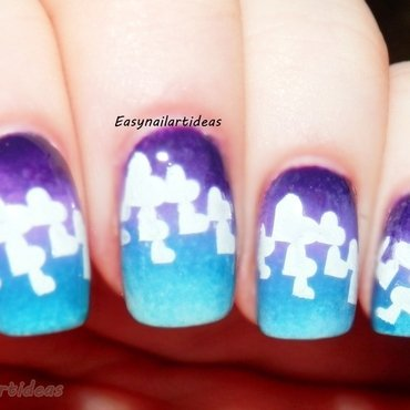 share the love nail art by Easynailartideas