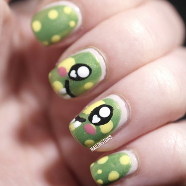 Monster Nail Art nail art by Nailingtons