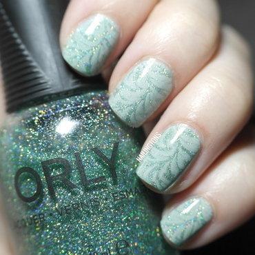 ORLY Glitter & Stamping Nail Art nail art by Nailingtons